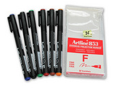 Marker 6's, Artline OHP Set